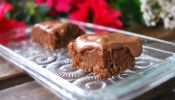 Healthy butternut squash chocolate brownie