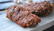 Oat chocolate bars